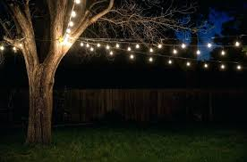 backyard string lights ideas outdoor diy