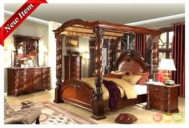 Queen Size Wood Canopy Bed King Full Of Furniture Cool – Evanmclaughlin