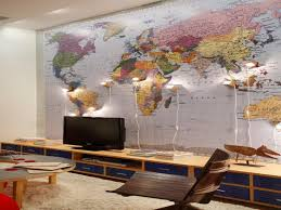 wallpaper for office wall. World Map Wallpaper For Office Walls Ideas, Gallery, Inspiration, Wall R