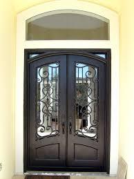 medium image for home door iron glass front doors wood glass iron entry doors here is