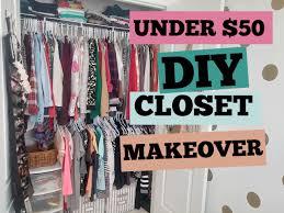 closet makeover tutorial