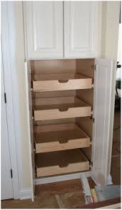 Organizing For Kitchen Diy Kitchen Pantry Shelves Kitchen Pantry With Wood Shelving