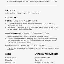Free Creative Resume Templates High School Resume Examples And
