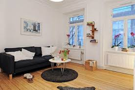 White Walls Decorating Interior Simple And Easy Studio Decorating Ideas Classic Studio