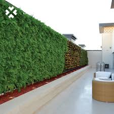 china artificial green fence wedding