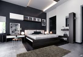 Modern Ikea Bedroom Designs With Nice Black And Gray Color Scheme