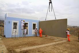 Modular Concrete Homes Modular Home Builder Concrete Modular Homes Being Produced In Peru