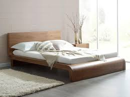 images of modern bedroom furniture. roma natural walnut bed simple chic and modern the sumptuous curves of this images bedroom furniture