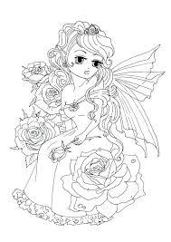 Kleurplaten Rozen The Fairy Dame Op Shshiinfo