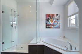 corner bathtub bathroom contemporary with white bathroom plastic acrylic air whirlpool combo bathtubs