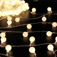 huox globe led string lights