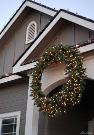 beautiful design ideas large wreaths lighted extra outside outdoor