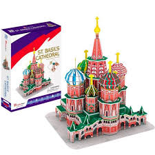 <b>CubicFun 3D Puzzle</b> 239h <b>Собор Василия</b> Блаженного (Россия ...