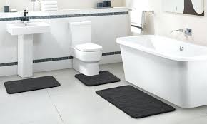 small bath mats and rugs contemporary bathroom modern cotton oversized oval shaped full size