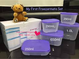 tupperware my first freezermate gift set