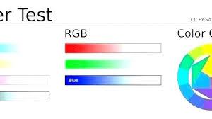 Color Test Page Printer Trustbanksurinamecom
