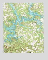 Nolin Lake Ky Topographic Map Topoquest