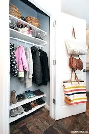 coat closet shoe storage best coat closet organization ideas on shoe coat closet storage coat closet