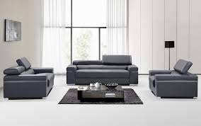 soho premium italian leather loveseat gray