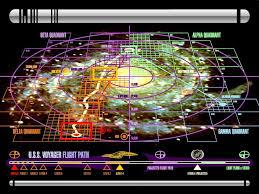 Star Trek Galaxy Chart Below Maps Of The Galaxy In The Star Trek Universe
