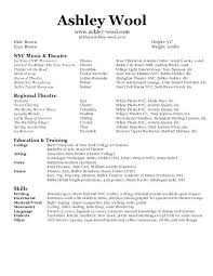 Dance Resume Template Magnificent Child Dance Audition Resume Template Kor44mnet