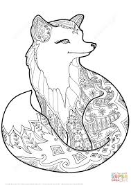 Small Picture Fox Coloring Sheets For AdultsColoringPrintable Coloring Pages