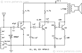 three transistor radio circuit diagram circuit diagram fuse Circuit Diagram #12