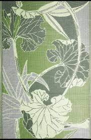 blossom outdoor rug front