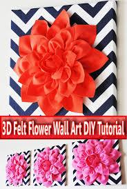 3d felt flower wall art diy tutorial on felt flower wall art diy with quiet corner 3d felt flower wall art diy tutorial quiet corner