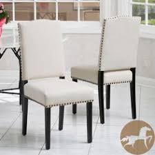 christopher knight home brunello beige fabric dining chairs set of 2