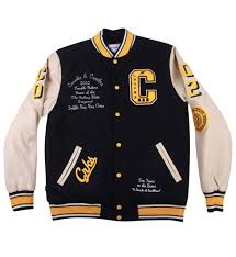 <b>Crooks</b> and <b>Castles</b> Decadent Letterman Varsity <b>Jacket</b> Dark Navy ...