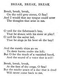 tennyson love poems poems