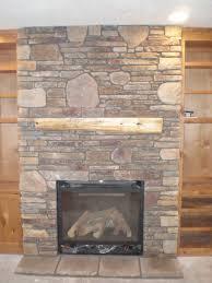 olympus digital twin city fireplace stone