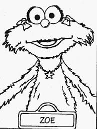 Small Picture 21 best Coloring Pages Sesame Street images on Pinterest