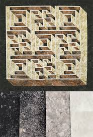 Labyrinth Walk Quilt Pattern Fascinating Labyrinth Walk Kit In Greys Along Came Quilting