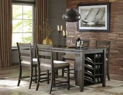 counter height dining table set. Rokane Light Brown Rectangular Counter Height Dining Room Set Table L