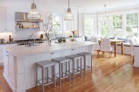 ... Vibrant Idea Laminate Flooring In A Kitchen Chic And Feminine Design  White ...