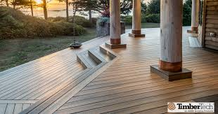 wood alternative decking. Exellent Alternative Timbertech Composite Deck In Walnut For Wood Alternative Decking