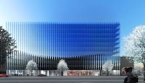 office building facade. rex designs a concave and crystalline office building for washington dc luxigon facade