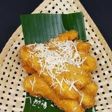 Resep sajian ayam goreng tepung crispy kali ini adalah sajian yang akan bisa anda buat di rumah dengan mudah. Resep Pisang Goreng Kipas Keju