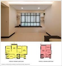 HDB Interior Design  SG LivingPod BlogHdb 4 Room Flat Interior Design Ideas