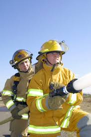 Firefighters In Full Proximity Suit 148th Fighter Wing Fw 148th