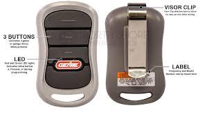 genie g3t bx intellicode 3 on garage door opener remote 360 s loading please wait