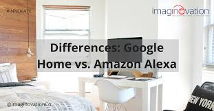 google home and office. Differences: Google Home Vs. Amazon Alexa And Office F