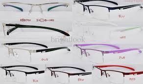 2016 retail new style half frame eyegles top quality with fashion case mental optical frame caviar eyegl frames eyegl frame material from