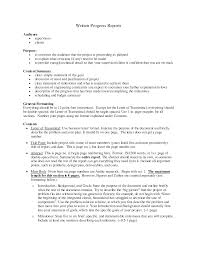 Technical Report Writing Examples