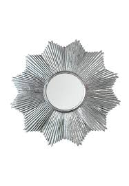 sunburst wall art starburst wall mirror in antiqued silver galvanized iron metal wall art outdoor sunburst