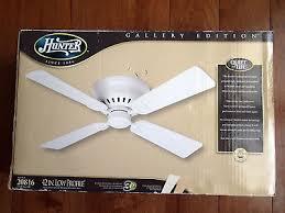 hunter 42 inch low profile white ceiling fan model 20816