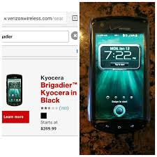 Best New Kyocera Brigadier for sale in ...