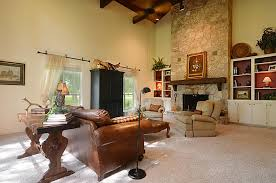 Country Home Accents And Decor Interior Bright Country Home Living Space Decor With Wood Beams 46